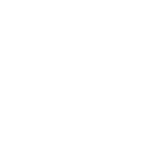 The Fat Badger White Logo